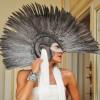 Анна Делло Руссо и её мега-шлем (член?)