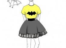 Бэтмен, мода и летучие мыши