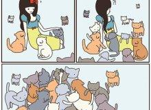 Комикс о Безумной Кошатнице. Введение