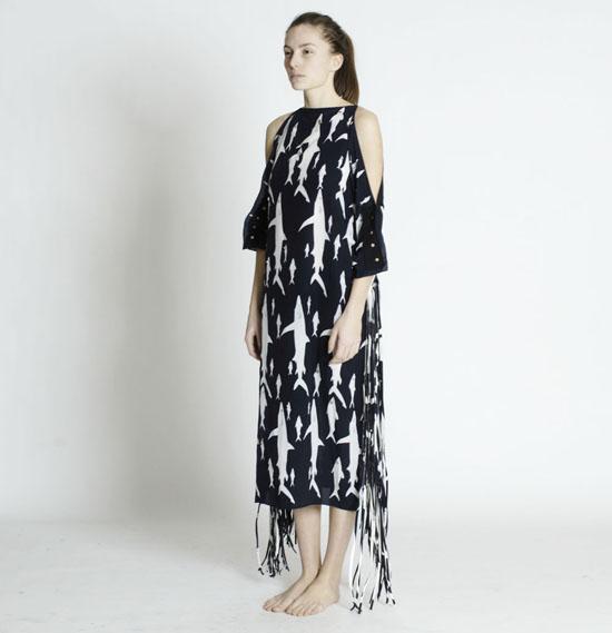 mariel-manuel-shark-printed-fringe-dress-01