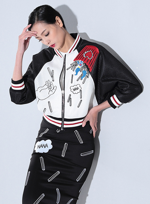 Almoda-2016-Spring-Women-Baseball-Zipper-Jacket-Cartoon-Pattern-Embroidery-Appliques-Mesh-Casual-Sporty-Jacket-Loose